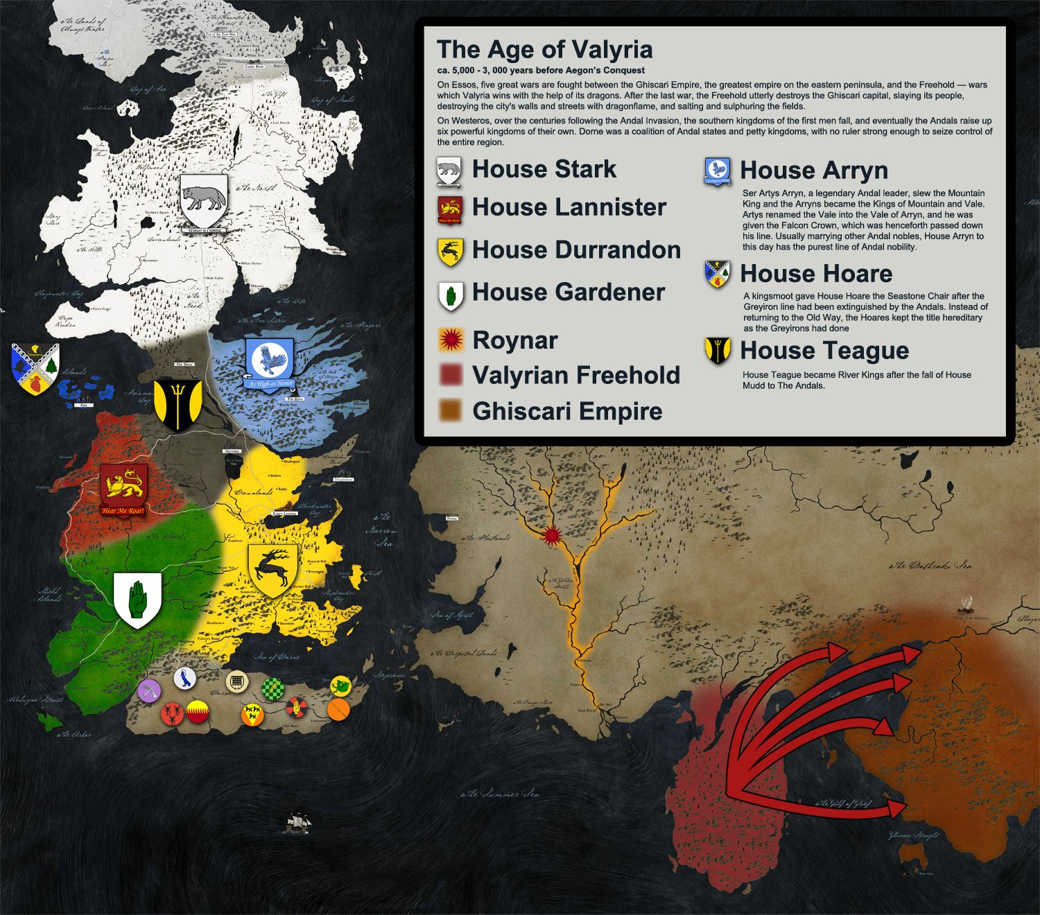 Illustrated history of westeros game of thrones pinterest books illustrated history of westeros gumiabroncs Image collections