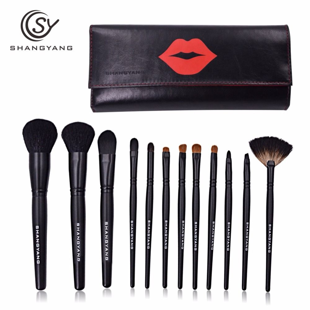 skincare SY Professional Set wooden brand with Foundation BB CC Cream concealer Power Blush eyeshadow makeup Brush for makeup brushes * Clicking on the VISIT button will lead you to find similar product on AliExpress website