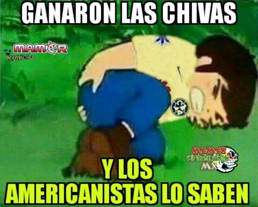 Fotogaleria Memes Memes De La Eliminacion Al America En Copa Mx Chivas Pasion Sitio No Oficial Del C Chivas Chivas Rayadas De Guadalajara Chivas Rayadas