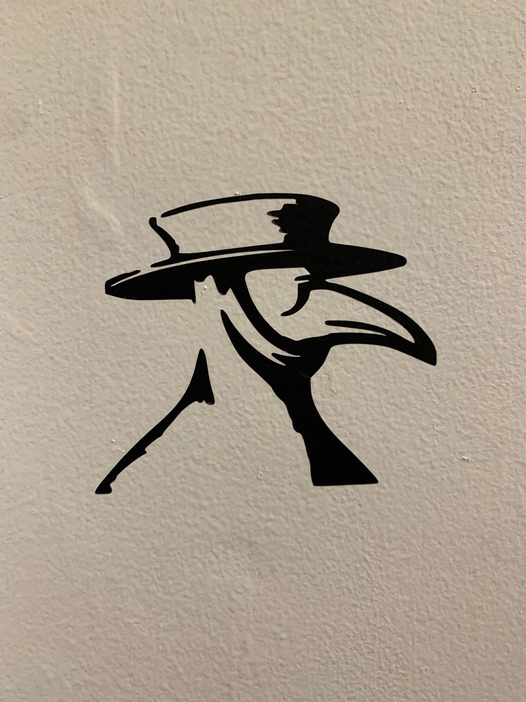 Plague Doctor Head Vinyl Decal Etsy In 2020 Plague Doctor Plague Doctor Mask Doctor Tattoo