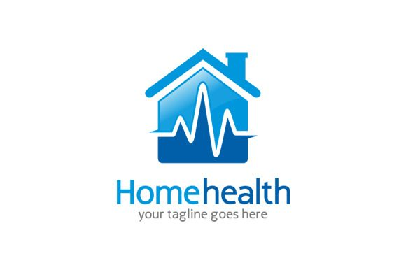home health care logo design. Home Health Care Logo Template by gunaonedesign on Creative Market