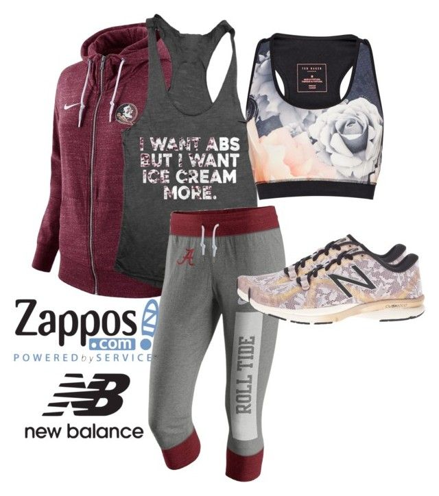"""Run the World in New Balance"" by heilymembreno on Polyvore featuring NIKE, Ted Baker, New Balance and NewBalance"