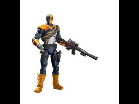 DC Collectibles Injustice Gods Among Us Deathstroke HD Action Figure Review | www.TekSushi.com