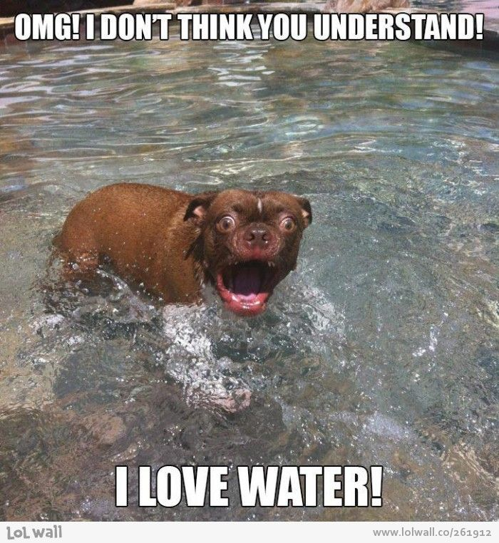 I LOVE WATER!