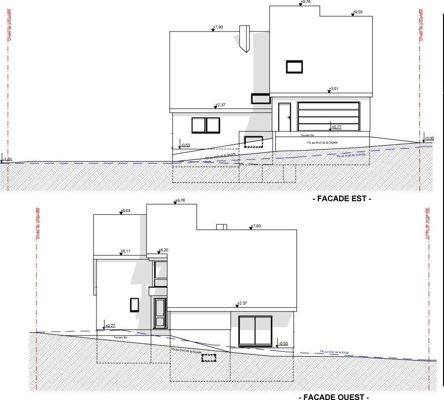 Plan Maison En Demi Niveau Plan Maison Plan De Maison Gratuit Maison