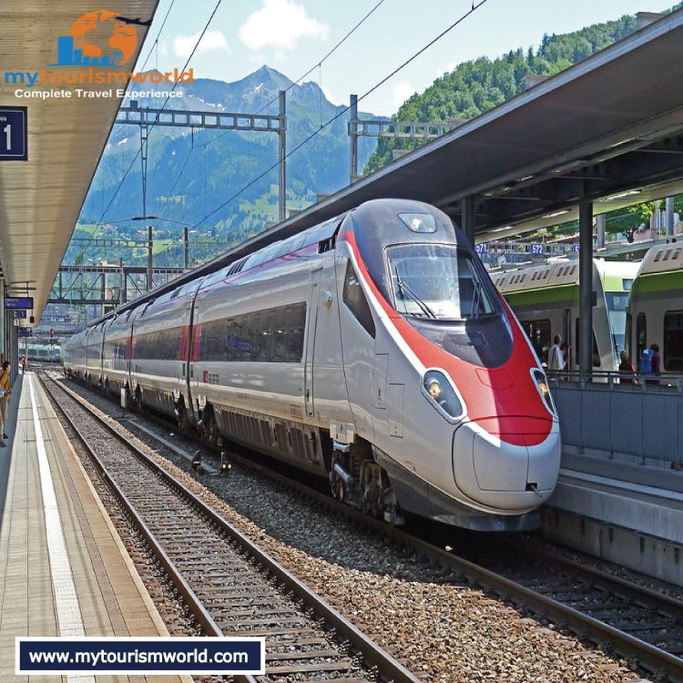 Find and book trains hassle free at mytourismworld spiez