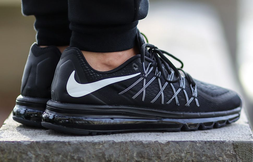 "Nike Air Max 2015 ""Black & White"" Nike Air Max, Nike Air ""title ="" Nike Air Max 2015 ""Black & White"" Nike air max, Nike air"