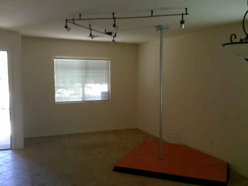 Stripper poles for home use