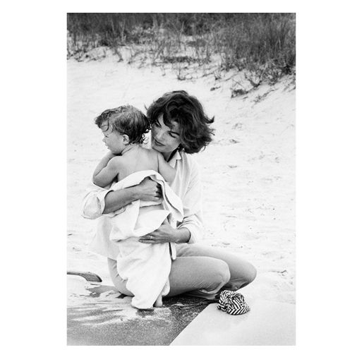 Jackie And Caroline Kennedy-Hyannis Port #5 1959, By Mark