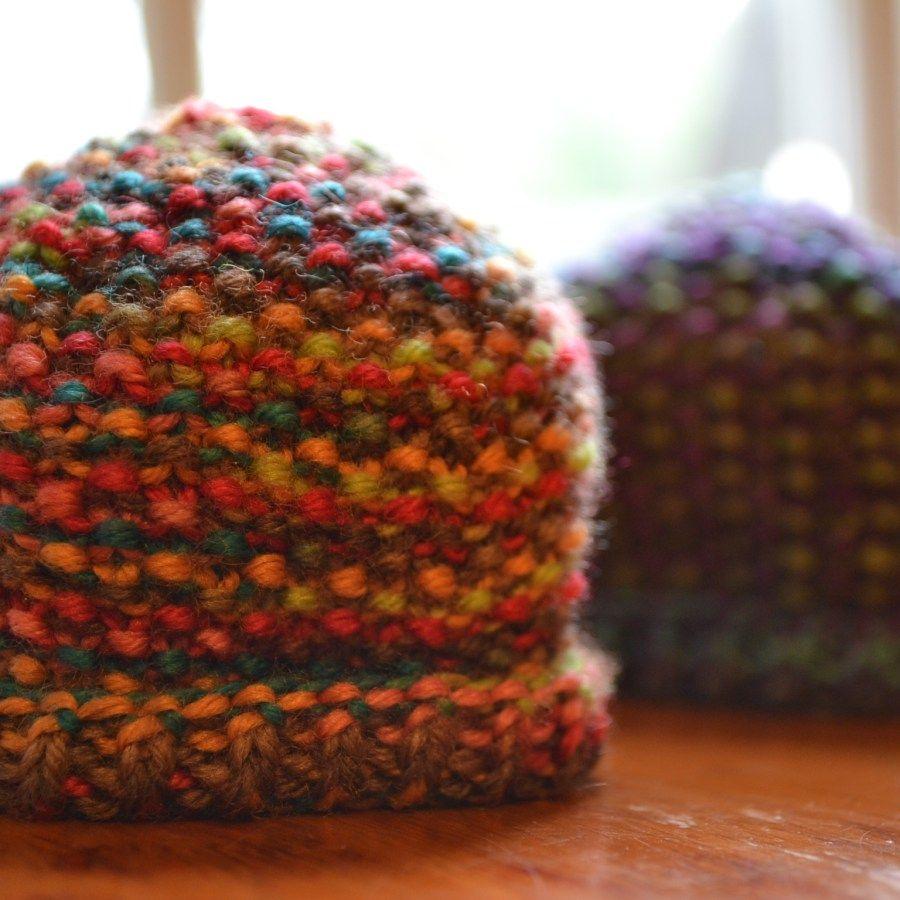 Simple Seed-Stitch Preemie Hat - aknitica   Hat knitting ...