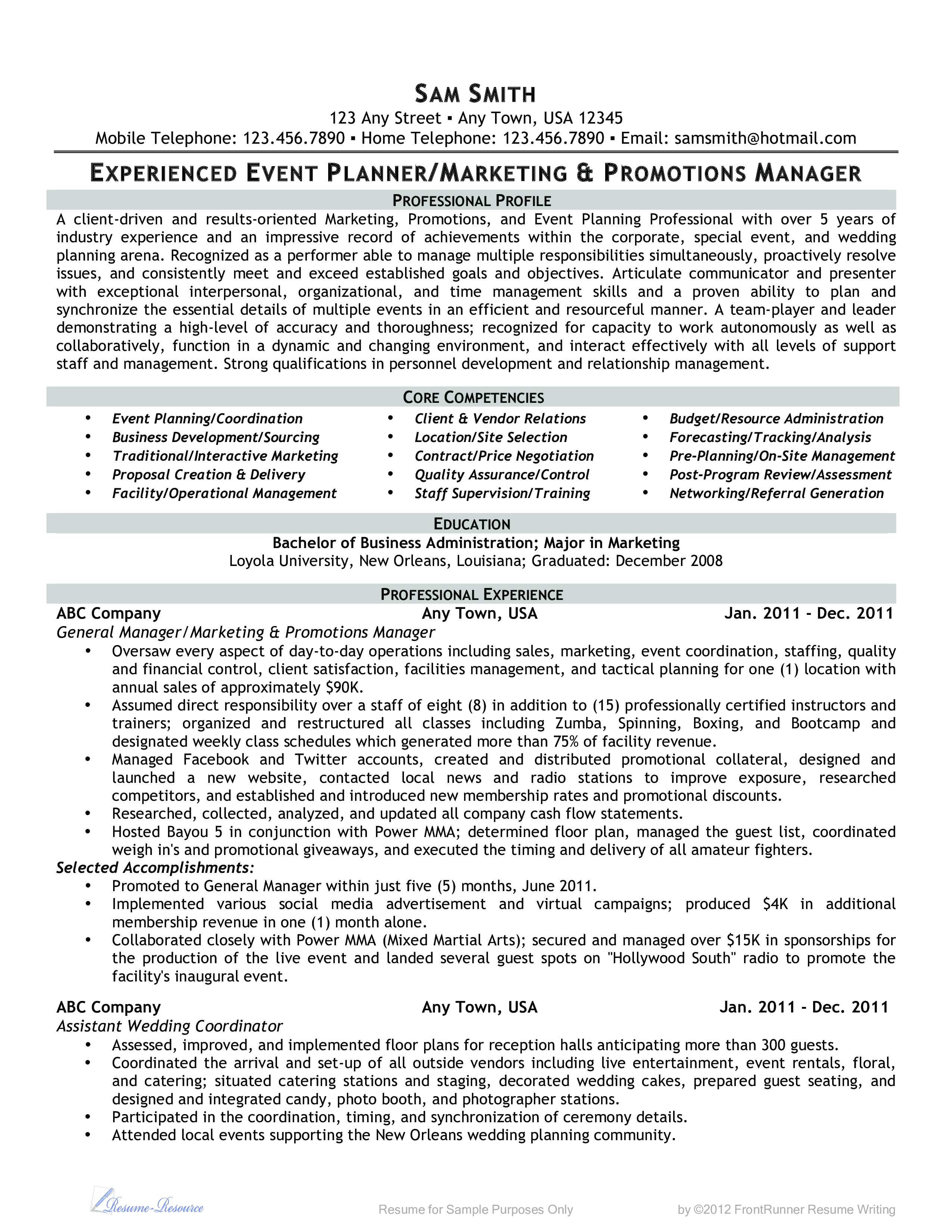Microsoft Word - Event Planner-Marketing And Promotions Manager.Doc - exbc24.pdf. Easy to download and use .pdf Business template.