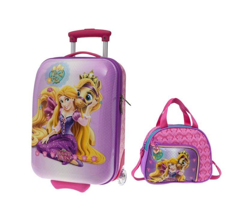 Lote Maleta Rapunzel Neceser Mp3 Taza Disney Style Little Kids Disney
