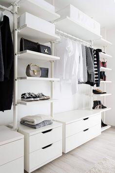Wunderbar Ankleidezimmer   Offener Kleiderschrank   Ikea   Stolmen   Closet Goals    Interior   Minimalismus