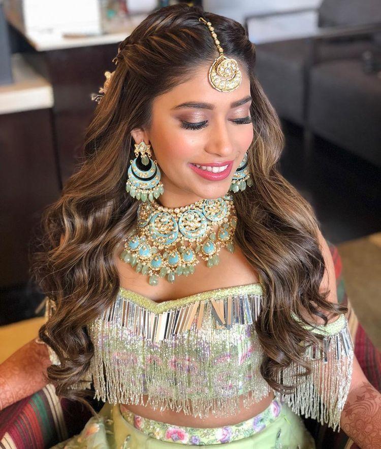 Pinterest Pawank90 Indian Wedding Hairstyles Hair Styles Bride Hairstyles
