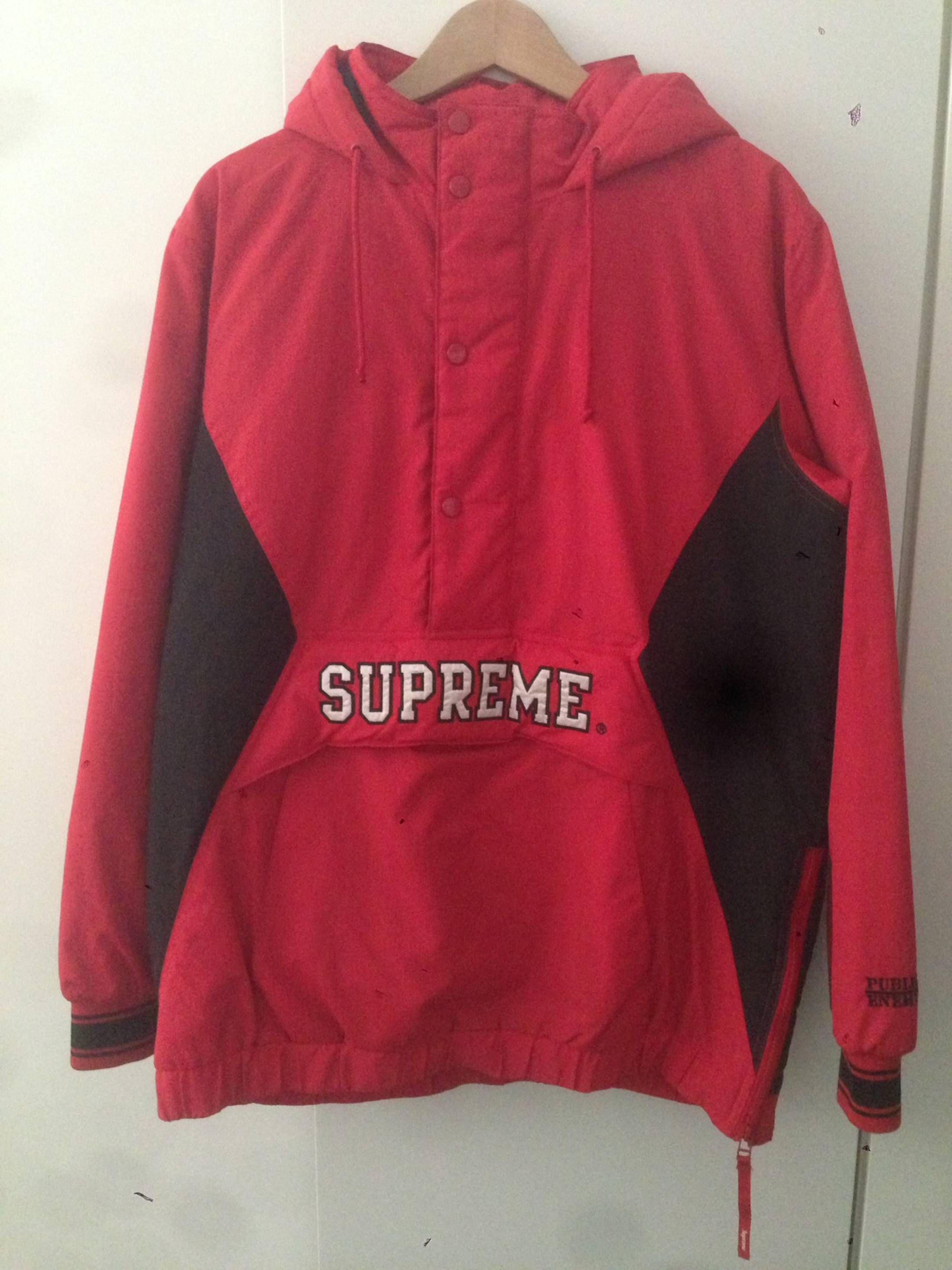 8f4579a1e394 Supreme Supreme PUBLIC ENEMY Starter Jacket Size US XL / EU 56 / 4