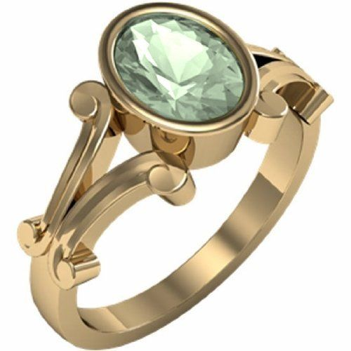 14K Yellow Gold Prasiolite (Green Amethyst) Ring Gems-is-Me, http://www.amazon.com/dp/B007QTIYHE/ref=cm_sw_r_pi_dp_bXRpqb0YH1BQ8