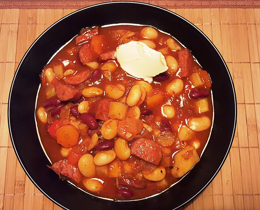 Photo of Hungarian red bean soup from ufermum | Chef