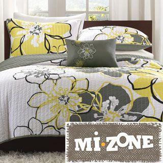 Madison Park Brianna 6-piece Coverlet Set - Overstock Shopping ... : bright yellow quilt - Adamdwight.com