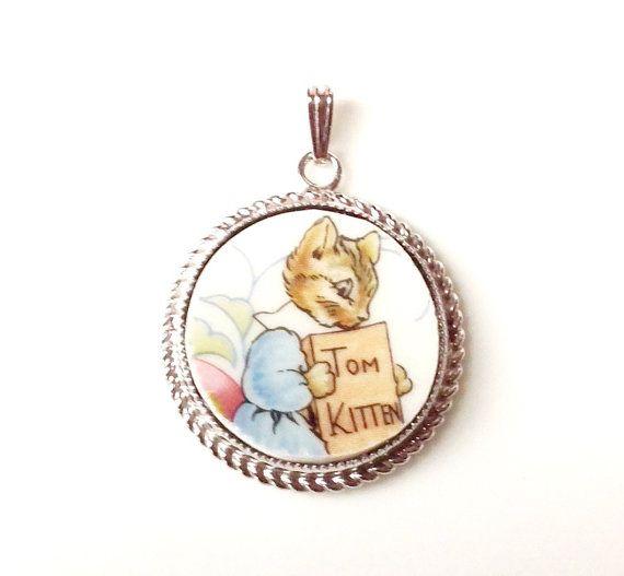 Beatrix Potter-Peter Rabbit-Tom by DinnerwearJewelry on Etsy