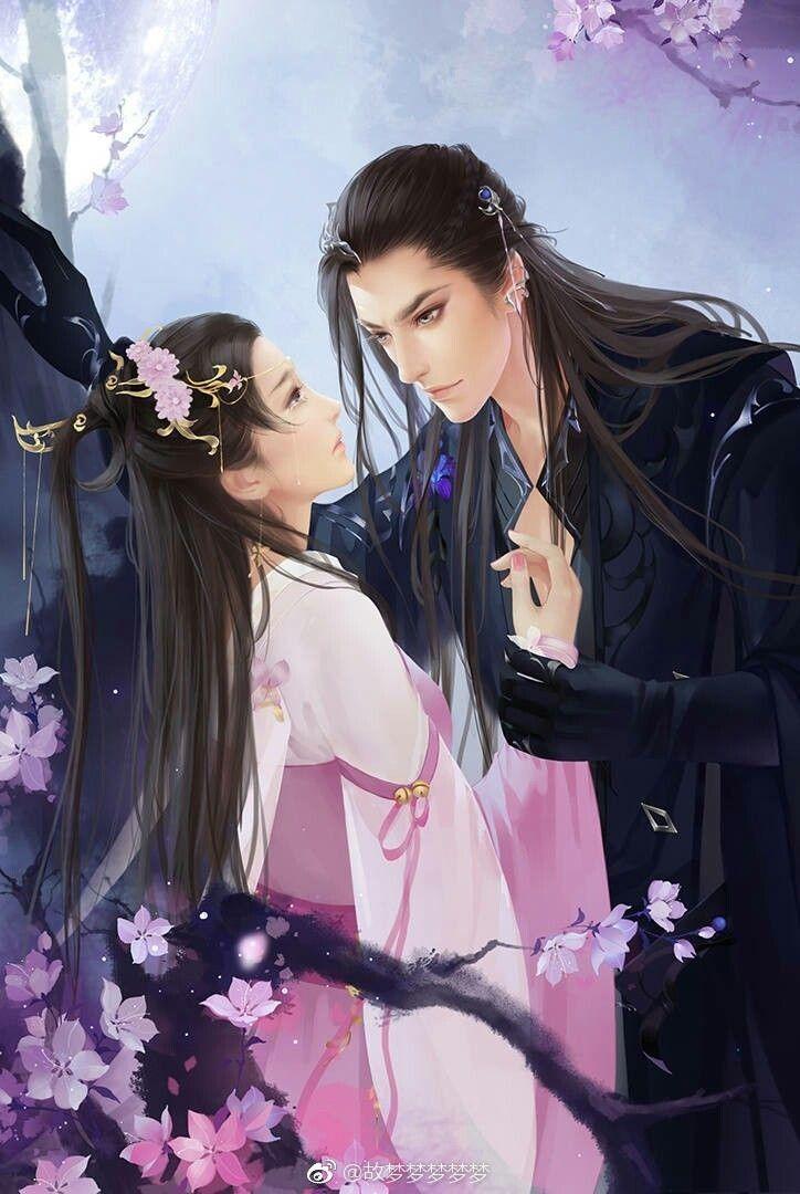 Istri Pangeran Tirani Melarikan Diri Ilustrasi Orang Pasangan Animasi Gambar Manga