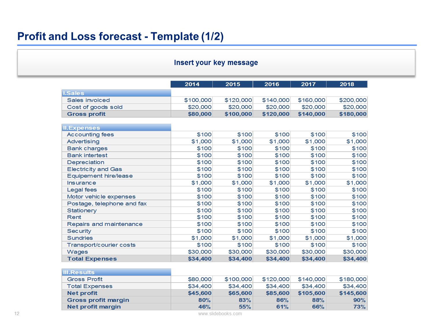 Financial plan business plan Financial plan template