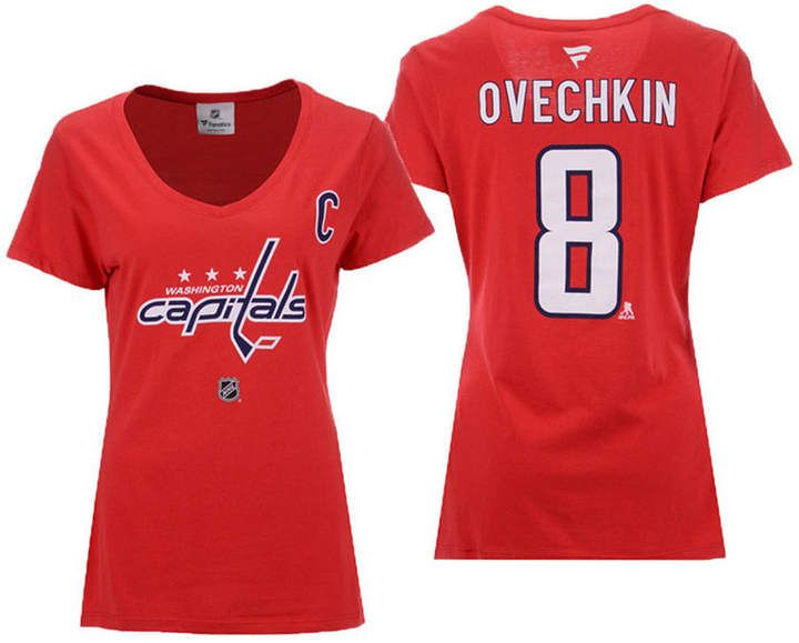 premium selection 8ddeb 20aaa Fanatics Women Alexander Ovechkin Washington Capitals Player ...