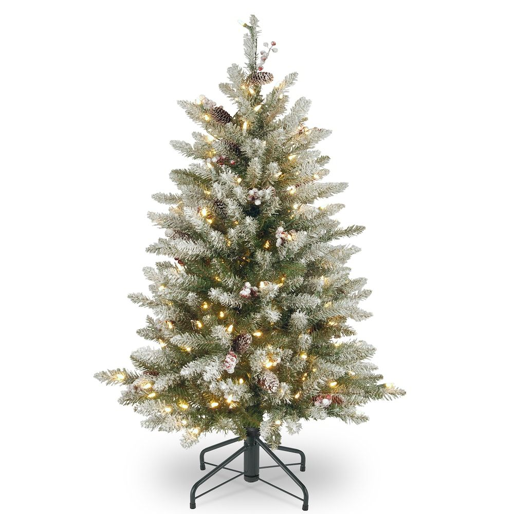 National Tree Company 4.5ft. PreLit Dunhill Fir