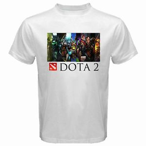 New DOTA 2 Heroes Logo Defence of The Ancients Men's White T-Shirt Size S to 3XL | Dota 2 Marketplace