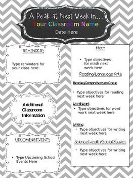 Editable!} Newsletter Template | Teaching Ideas/Teaching Resources ...