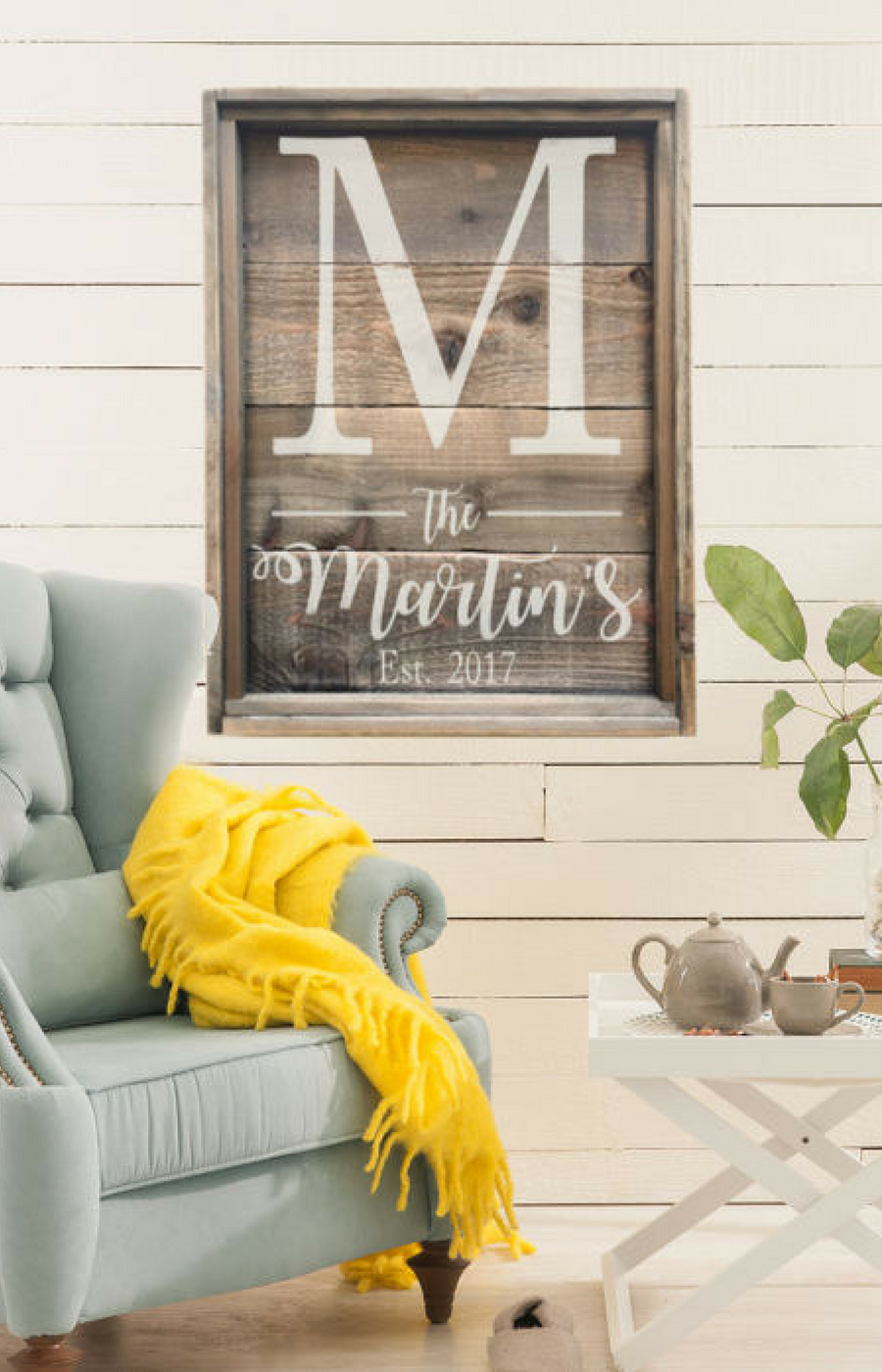 home decor gifts. Large Personalized Reclaimed Wood Sign  Rustic Family Farmhouse Home Decor Housewarming
