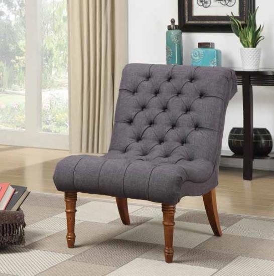 Best 902217 Alcott Hill Crumpton Charcoal Grey Linen Like 400 x 300