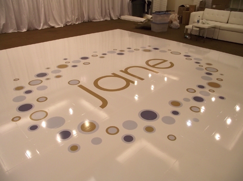 Name Bat Mitzvah Logo Dance Floor By Interactive Entertainment Concepts Mazelmoments