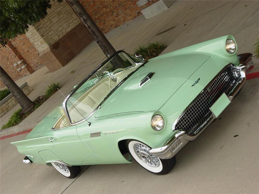 1957 Ford Thunderbird Convertible Barrett Jackson Auction