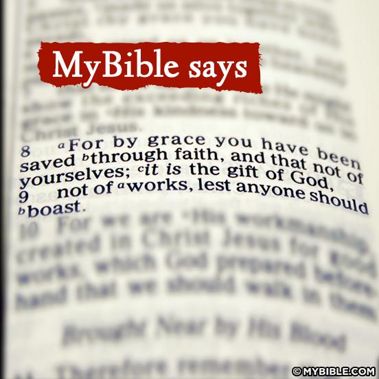 Grace abundant and full of Glory..