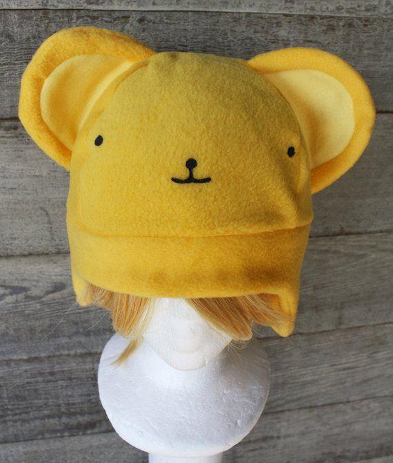 d165c6b97868c Kero Card Captor Sakura Hat - Fleece Hat Adult