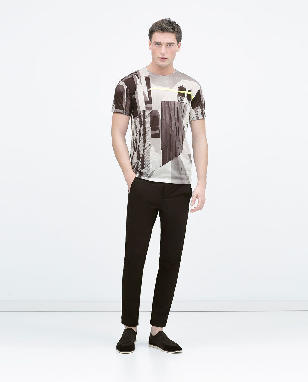 ZARA - SALE - Short sleeved T-shirt