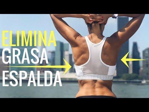 como eliminar la grasa de la espalda alta y brazos