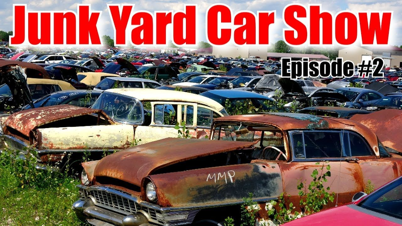 This is a video of me walking around the junk yard taking video of ...