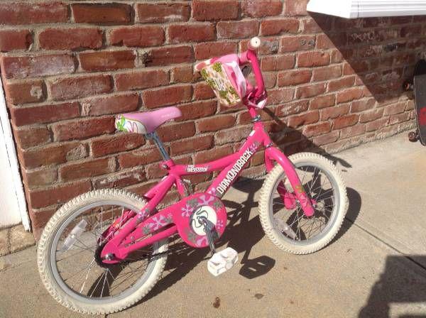 Diamondback 16 inch girl bike - Pink $60 (Redwood City)