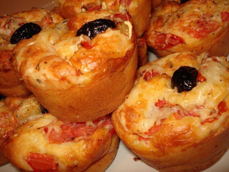 Muffin salé façon pizza ! - Paperblog