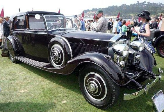 1934 Sedanca de Ville by Thrupp & Maberly (chassis 171RY, body 5873)