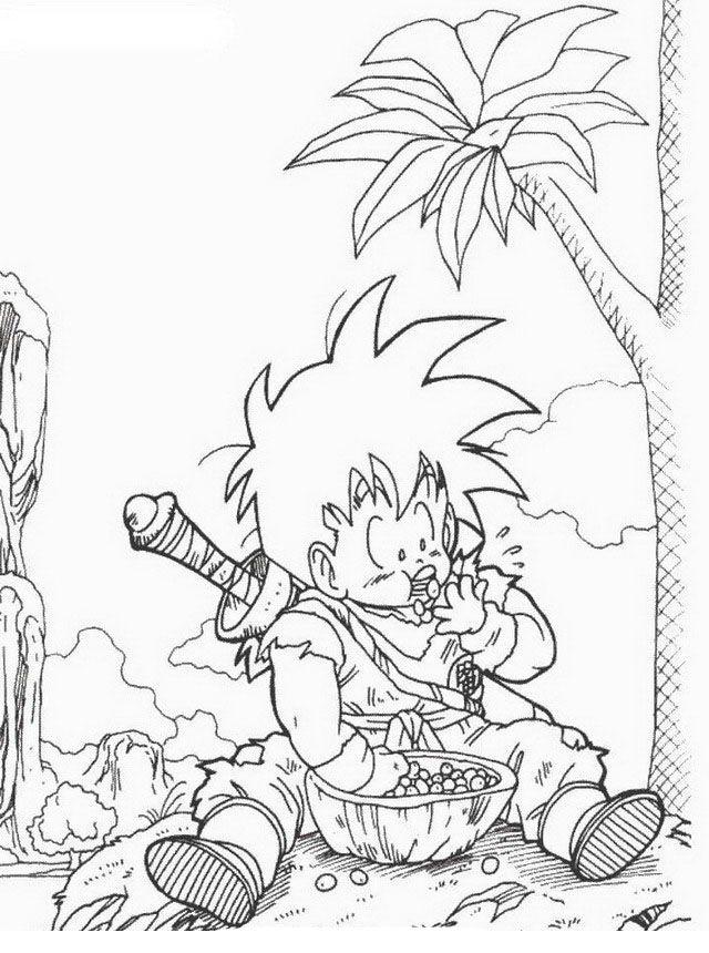 Dragon Ball Z Ausmalbilder. Malvorlagen Zeichnung druckbare nº 23 ...