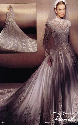 Vestido de novia 80s