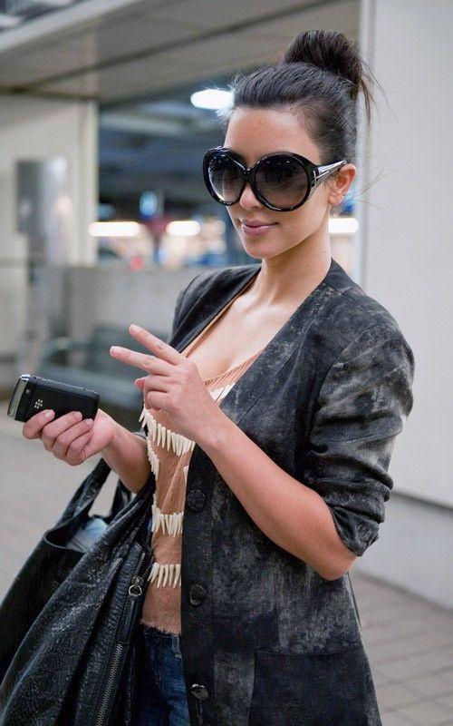 5d28e04534 Oversized Round Xl Oval Frame Fashion Designer Ali Women Sunglasses Shades  Black