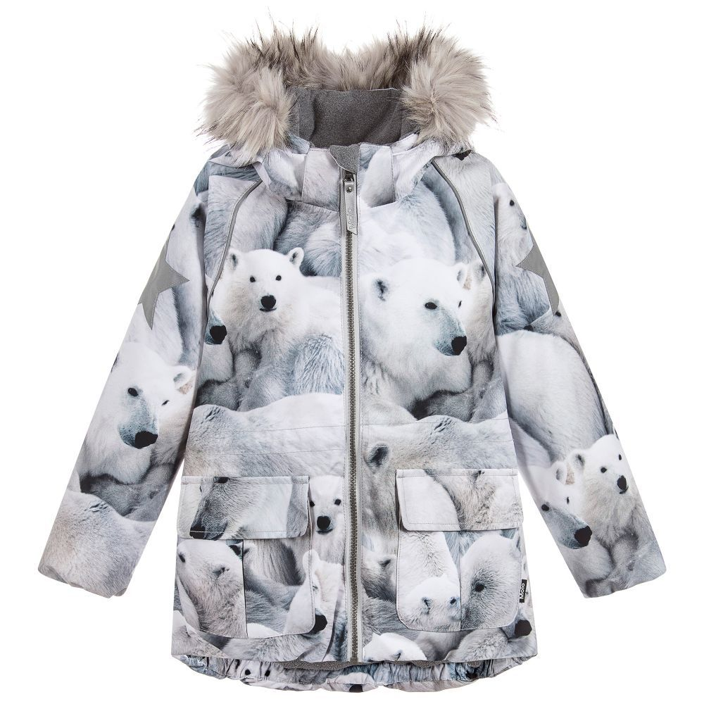 67801eb69 Girls CATHY Ski Jacket for Girl by Molo. Discover more beautiful ...