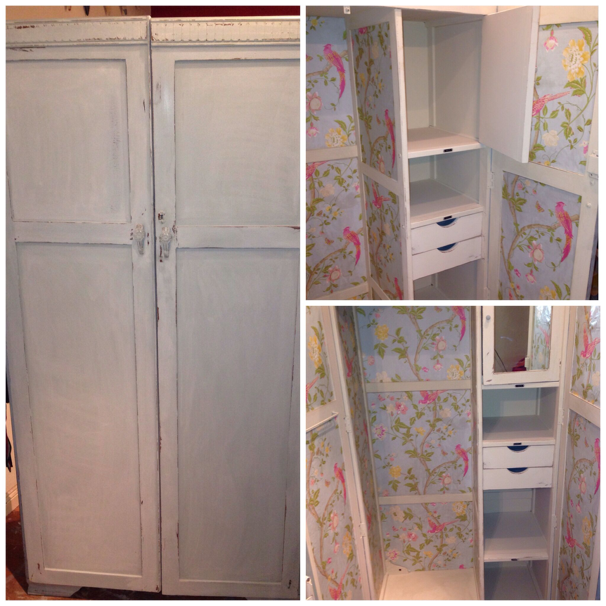 Vintage wardrobe given the feminine touch home decor that i love