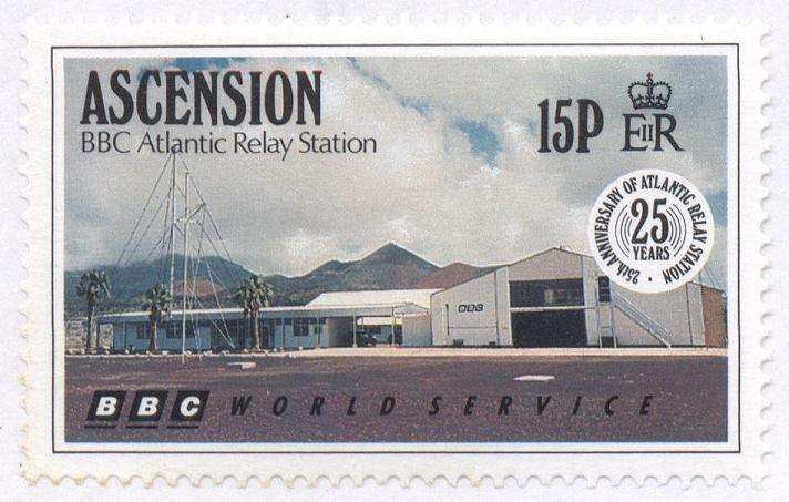 Qsl Bbc Ascension On Stamp