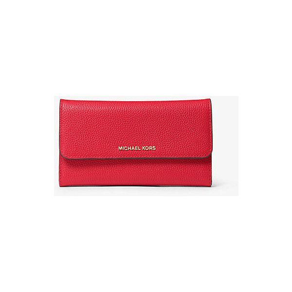 fdd7838db57d33 Continental Wallet · Wallets · MICHAEL Michael Kors MICHAEL Michael Kors  Mercer Tri-Fold Leather... ($128