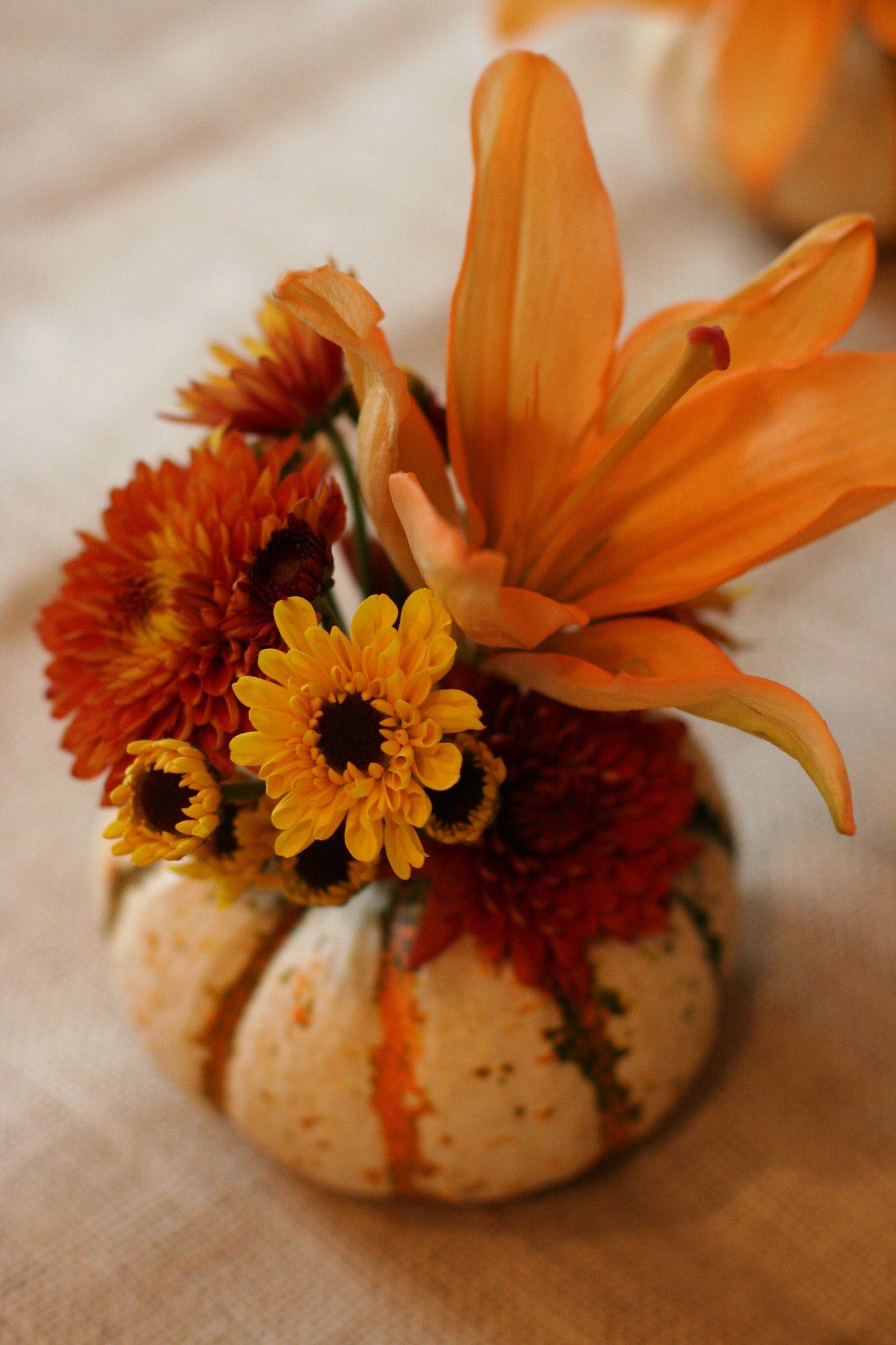 40+ Beautiful Thanksgiving Flower Arrangements Garden