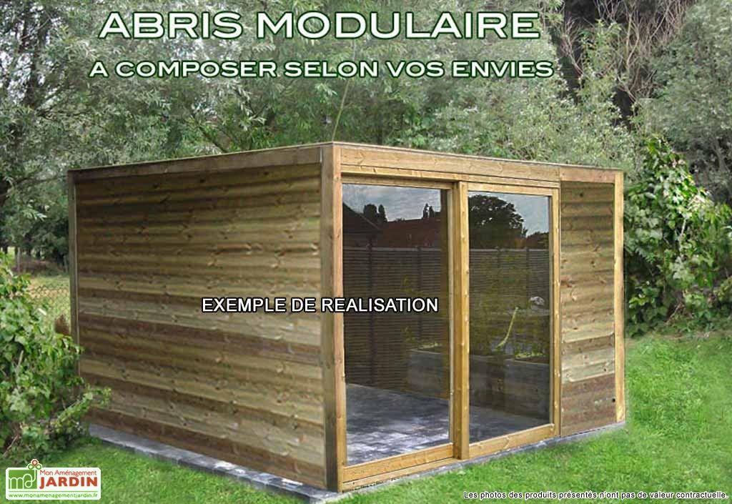 Abri De Jardin Bois Exterior (400x300x230)